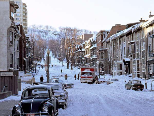 Montreal en hiver 1972